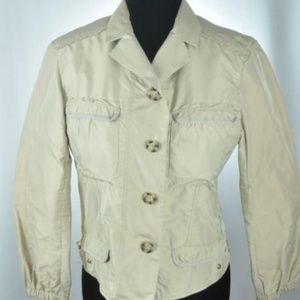 PRADA Khaki Jacket XS / Small